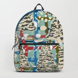 Winter Snowman Backpack