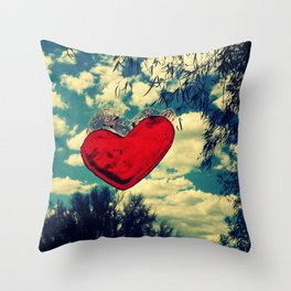 Love in the Clouds Throw Pillow