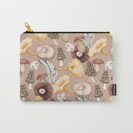 Mushroom Lovers Pattern Carry-All Pouch