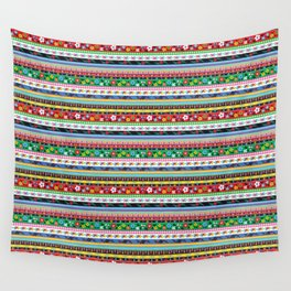 Folk Stripe Wall Tapestry
