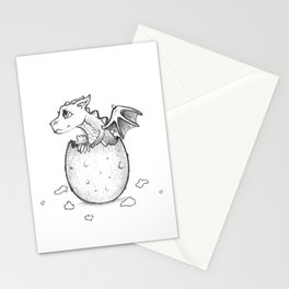 Welcome to the world little dragon! Stationery Cards