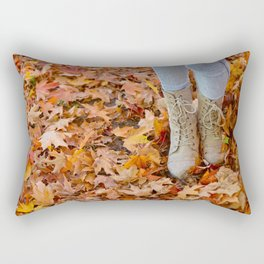 where is my patience? Rectangular Pillow