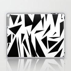 Black shapes Laptop & iPad Skin