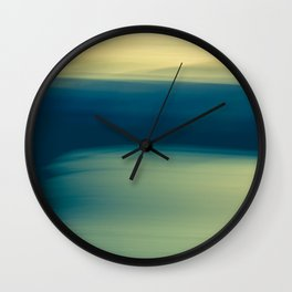 The Moment Before Twilight Wall Clock