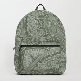 Fir Tree Mandala 3 Backpack