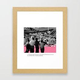 Dream boys Framed Art Print