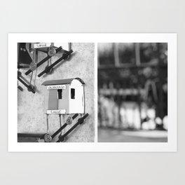 Viajes - Chile - Puerto de Valparaiso Art Print