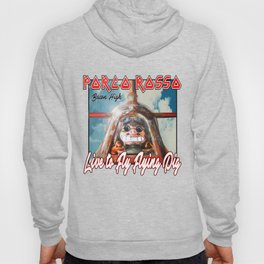 live to fly flying pig Hoody