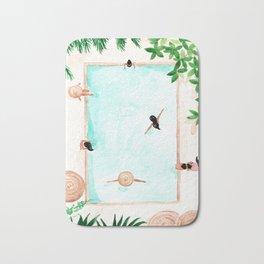 Pool Day Bath Mat