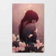 Ghost Exposure Canvas Print