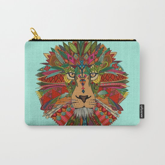 lion mint Carry-All Pouch