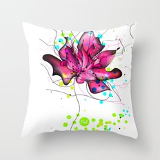 out lines Throw Pillow