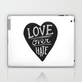 Love over Hate Laptop & iPad Skin