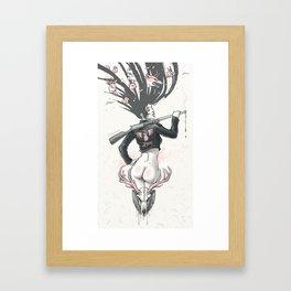 Love Breaker Framed Art Print