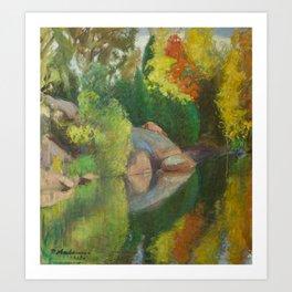 Pekka Halonen Autumnal Landscape Art Print