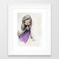 sasha grey Framed Art Prints featuring Sasha by solocosmo