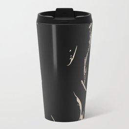 Womans body beauty - the Shapes in Dark, sexy stencil, woman nude, erotic artwork, hot blonde Travel Mug