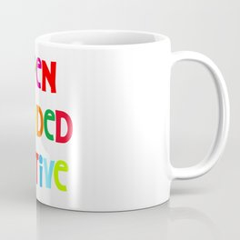 Open minded Native Coffee Mug