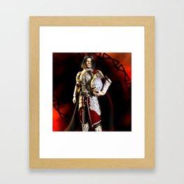 The Conqueror Framed Art Print