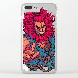 Shun Goku Satsu Clear iPhone Case
