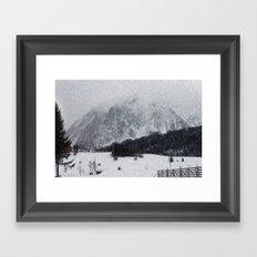Winter Landscape Framed Art Print