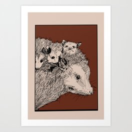 Trashpuppies Art Print