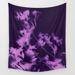 botanical - ultra violet Wall Tapestry
