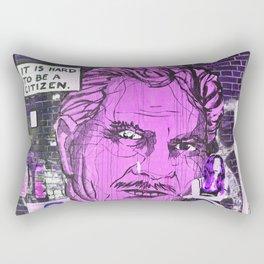 IT IS HARD TO BE A CITIZEN - Berlin Rectangular Pillow