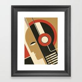 Bauhausmusic - Part I Framed Art Print