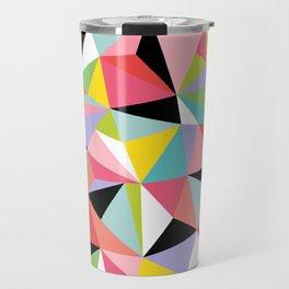 Geometric Jane Travel Mug