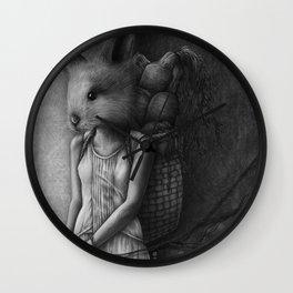 Hunting and Gathering Wall Clock