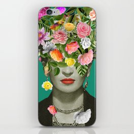 Frida Floral iPhone Skin