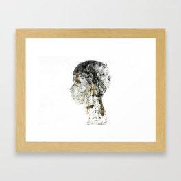 Silence2 Framed Art Print