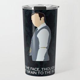 The Final Problem - Mycroft Holmes Travel Mug