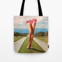Tote Bags featuring Stems Analog by Douglas Hale