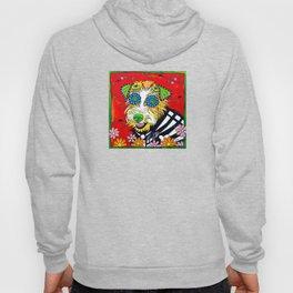 Dottie the Adorable Sugar Skull Terrier Hoody