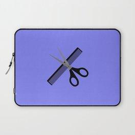 scissors & comb Laptop Sleeve