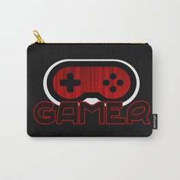 Red Gamer Carry-All Pouch