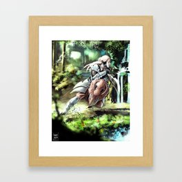 Keeper of Light Framed Art Print
