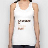 oitnb Tank Tops featuring Chocolate & Vanilla Swirl OITNB by Maria Giorgi