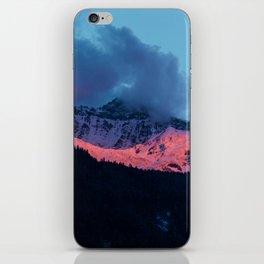 Swiss Alps Sunset I iPhone Skin