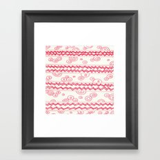 red candy Framed Art Print