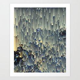 icy window Art Print