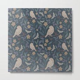 Bird Pattern #1 Metal Print