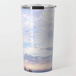 Landscape & Clouds Travel Mug