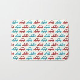 Beep Beep! (Patterns Please) Bath Mat