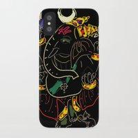 ganesha iPhone & iPod Cases featuring Ganesha by Ghavuri Kumar