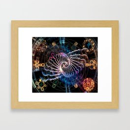 Astral Connection Framed Art Print