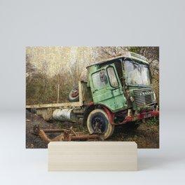 The Battered Leyland  Mini Art Print