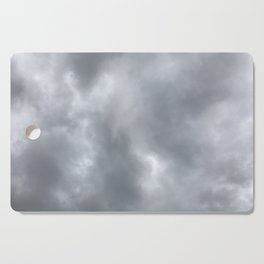 dreary sky Cutting Board
